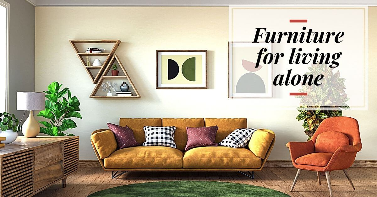 一人暮らしや単身赴任で家具レンタル